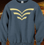 Deltic sweatshirt.